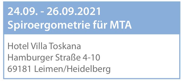 Anmeldung - MTA-Seminar - Heidelberg